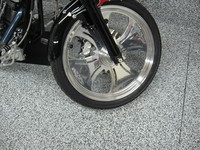 Garage floor decorative coatings
