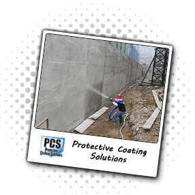 Concrete wall bomb blast protection
